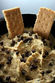 12 Days of Christmas Treats-Day 7-Chocolate Chip Cookie Dough Dip