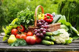 Fresh veggies to can
